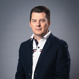 CEO / Member of the Management Board Taras Potapov